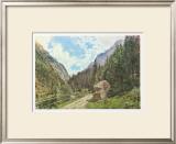 The Valley Anlauftal near Gastein, Salzburg Poster by Rudolph von Alt