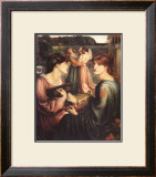 The Bower Meadow Posters by Dante Gabriel Rossetti