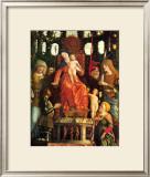 La Vierge de la Victoire Print by Andrea Mantegna