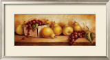Fruit Panel I Posters by Peggy Thatch Sibley