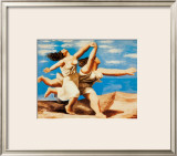 Women Running on the Beach, c.1922 Posters by Pablo Picasso