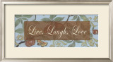 Live Laugh Love Print by  Smith-Haynes