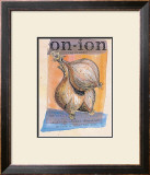 Onion Poster by Fred Hill