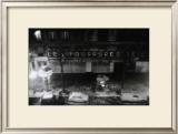 View from the Window at Night of Paris Art by Manabu Nishimori