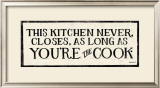 You're the Cook Prints by Kathrine Lovell