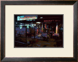 Mercedes Grille, Venice Beach, California Framed Giclee Print by Steve Ash