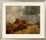 Cottage in the Dunes Posters by  Jean-Charles Cazin