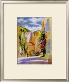 Coastal Village, France Prints by Karen McLean