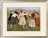 The Kindergarten Children Posters by Hans Thomas