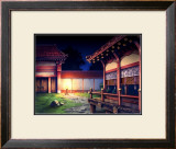 Heian Era Town of Japan Framed Giclee Print by Kyo Nakayama