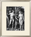 Adam and Eve, c.1505 Posters by Albrecht Dürer