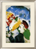 Rural Life Print by Marc Chagall