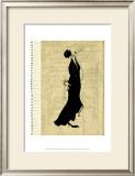 Flapper Fashion II Art by Elissa Della-piana