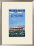 Mess Maritimes - Marseille Antilles Art by  Gachons