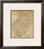 Russia in Europe, c.1812 Framed Giclee Print by Aaron Arrowsmith