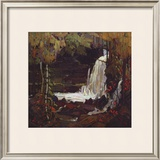 Woodland Waterfall Print by Tom Thomson