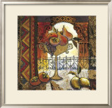 Golden Kilim II Prints by Karel Burrows