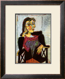 Portrait of Dora Maar, c.1937 Art by Pablo Picasso