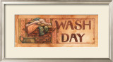 Wash Day Print by Diane Knott