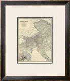Austria West, c.1861 Framed Giclee Print by Alexander Keith Johnston