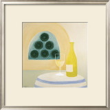 White Wine Art by Laura Duggan