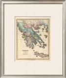 Graecia Antiqua, c.1823 Framed Giclee Print by Fielding Lucas