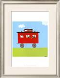 Circus Train IV Prints by Erica J. Vess