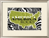 America Rocks Posters by Marilu Windvand