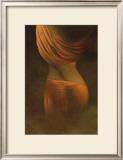Misty Woman I Prints by Alijan Alijanpour