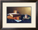 The Bankers Table Framed Giclee Print by William Michael Harnett