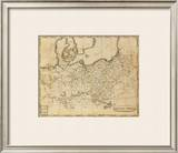 Prussian States, c.1812 Framed Giclee Print by Aaron Arrowsmith