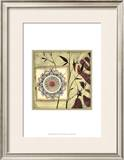 Printed Moonlit Rosette II Prints by Jennifer Goldberger