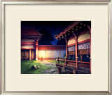 Heian Era Town of Japan Framed Giclee Print by Kyo Nakayama
