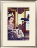 Au Cinema Poster by Denis Nolet