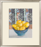 Citrons Jaunes Print by Frederic Givelet