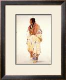 Chan-Cha-Uia-Teuin, Teton Woman Prints by Karl Bodmer