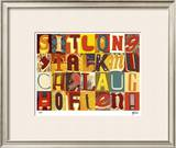 Sit Long, Talk Much Limited Edition Framed Print by M.J. Lew