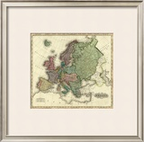 Europe, c.1823 Framed Giclee Print by Henry S. Tanner