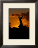 Angel Sunset Framed Giclee Print by Charles Glover
