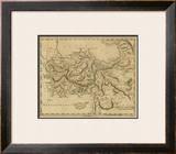 Asia Minor, c.1812 Framed Giclee Print by Aaron Arrowsmith