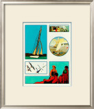 Yachting Posters by Santa