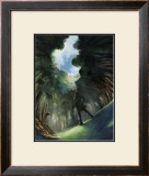 Looking at the Sky in the Depths of the Forest Framed Giclee Print by Kyo Nakayama