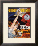 Loterie-Pochette Nationale, 1907 Posters by Maurice Tamagno