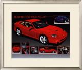 Car Ferrari 550 Maranello Posters