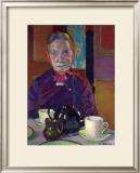 Portrait of Mrs. Mounter Prints by Harold Gilman