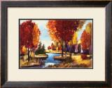 Landscape II Print by Oleg Danilyants