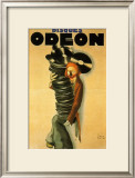 Disques Odeon, c.1932 Posters by Paul Colin