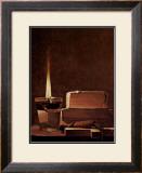Kerze und Bucher Candlelight Study Posters by Georges de La Tour