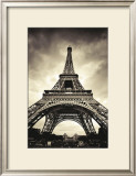 Eiffel Tower Print by Marcin Stawiarz