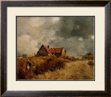 Cottage in the Dunes Print by Jean-Charles Cazin